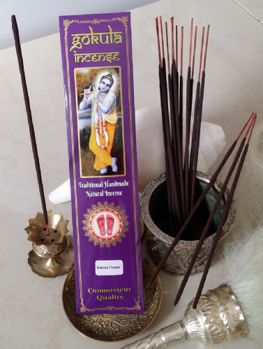 Bakula Flower Incense Sticks - 20 grams